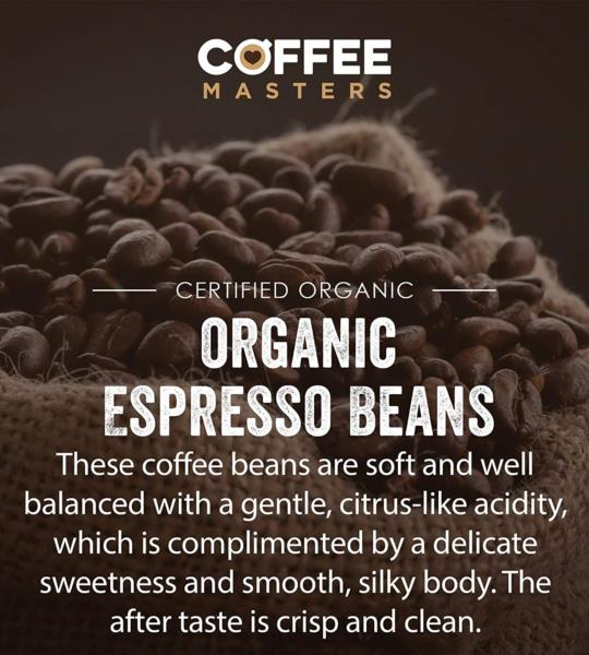 Coffee Masters - Peruvian Organic Fairtrade Coffee Beans (2x1kg) photo 4