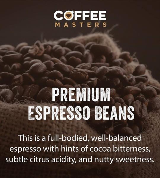 Coffee Masters - Super Crema Blend Coffee Beans (4x1kg) photo 5