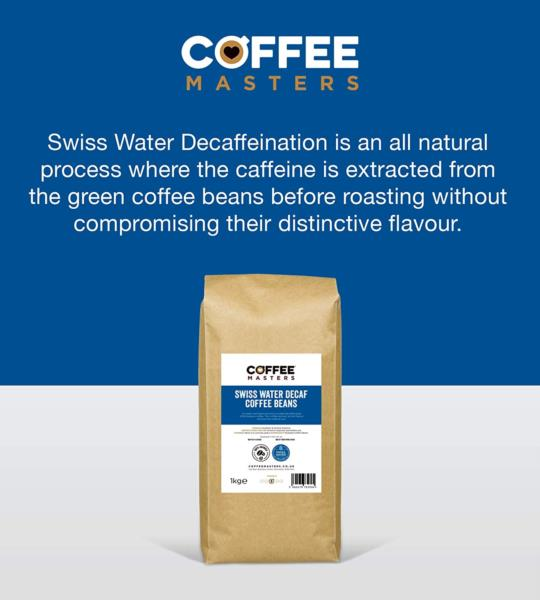 Coffee Masters - Swiss Water Decaf Coffee Beans (1x1kg) photo 8