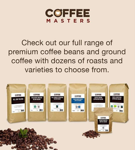 Coffee Masters - Colombian Cold Brew Ground Coffee (1x500g) photo 4