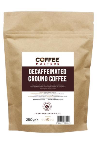 Ground Coffee - Decaf (1x250g)