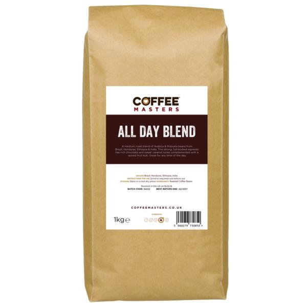 Coffee Masters - All Day Blend Coffee Beans (1x1Kg)