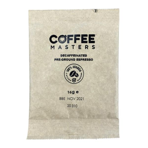 Decaf Espresso Sachets (100x16g)