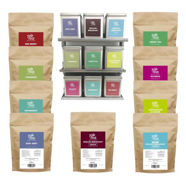 The Tea Masters Starter Kit - Loose Leaf