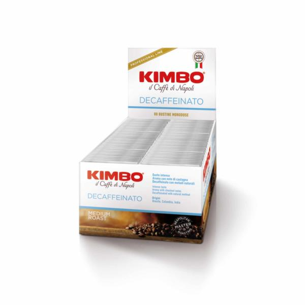 Kimbo Decaf Ground Espresso 1 Cup Sachets (80x7g)