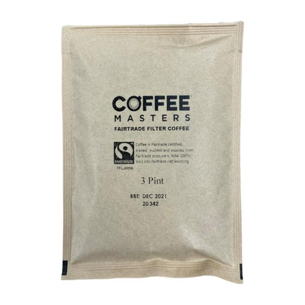 Filter coffee - Fairtrade (100x3pint) (No Papers)