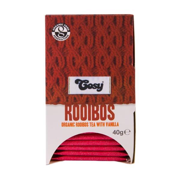 Cosy Organic Rooibos & Vanilla Tea (1x20)