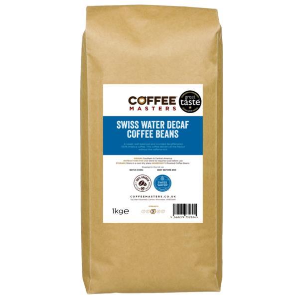 Coffee Masters - Swiss Water Decaf Coffee Beans (1x1kg)