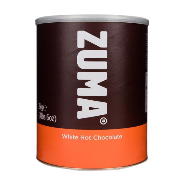 Zuma Hot Chocolate - White (1x2kg)