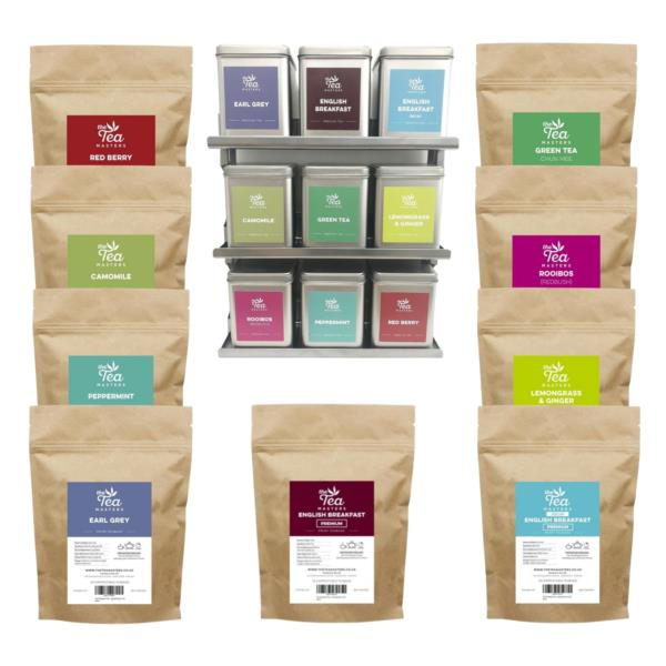 The Tea Masters Starter Kit - Prism Teabags