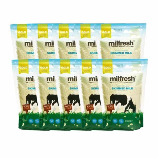 Milfresh Gold - Granulated Skimmed Milk (10x500g)