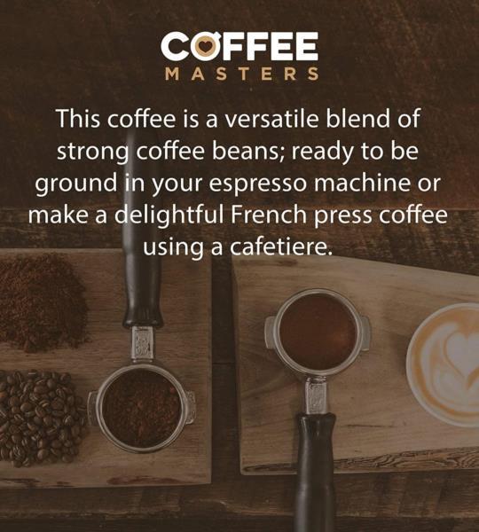 Coffee Masters - Triple Certified Organic Blend Coffee Beans (2x1kg) photo 4