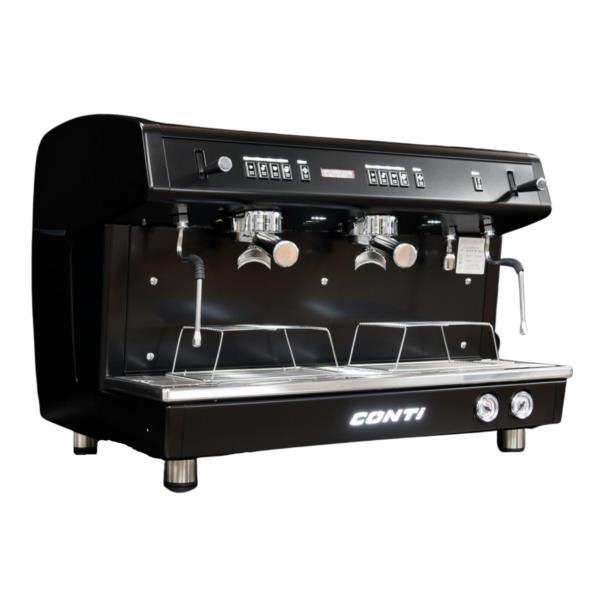 Conti X-ALL Black 2 group Coffee Machine - Tall Cup photo 1