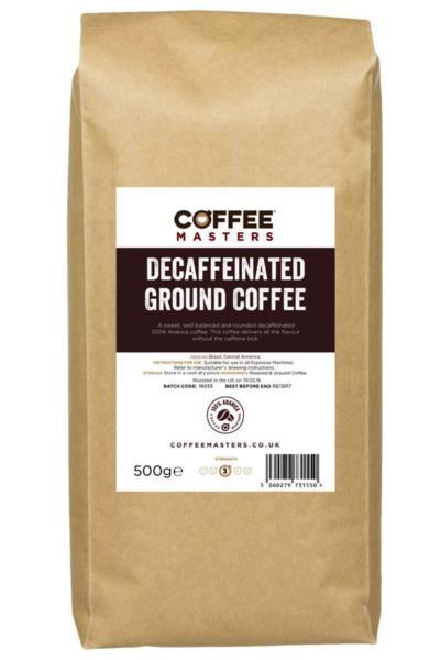 Coffee Masters - Decaf Ground Coffee (1x500g)