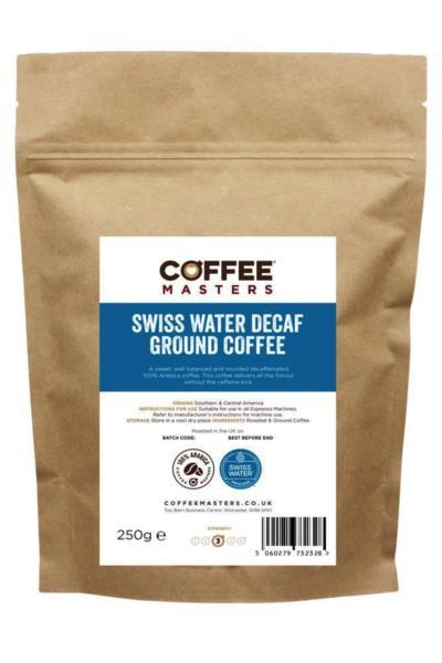 Coffee Masters - Swiss Water Decaf Ground Coffee (1x250g)