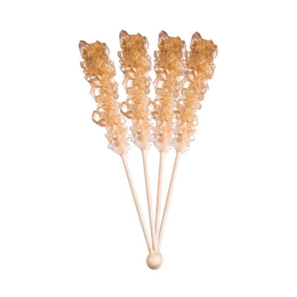 Amber Candy Swizzle Sticks (unwrapped) (1x100)