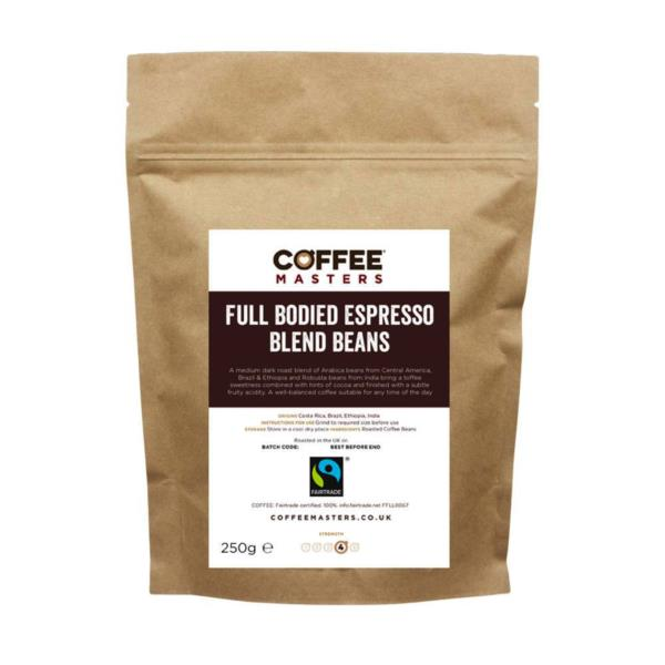 Coffee Masters - Full Bodied Blend Coffee Beans (1x250g)