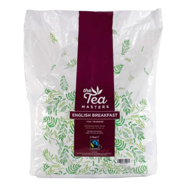 The Tea Masters Fairtrade Catering Teabags (1x1100)