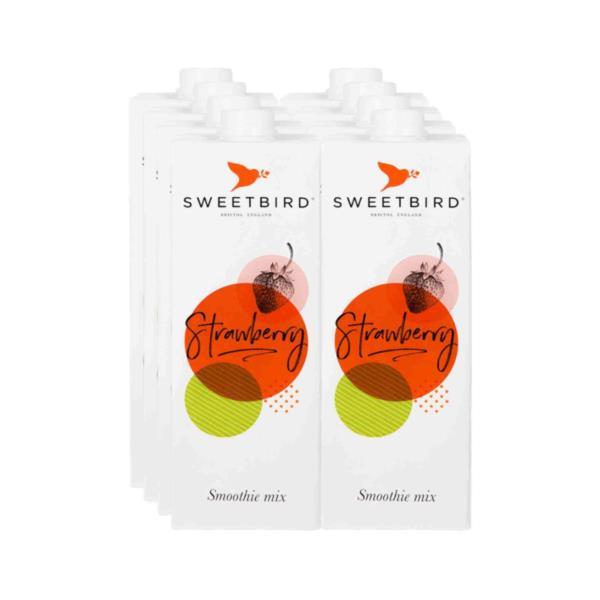Sweetbird Smoothie - Strawberry - Case (8x1L)