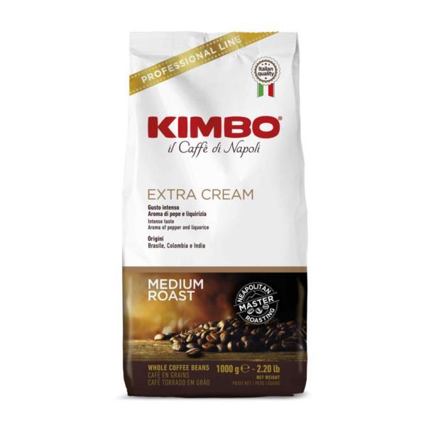Kimbo Extra Cream Premium Italian Espresso Beans (1x1kg)