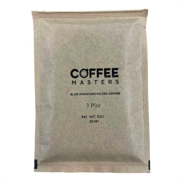 Coffee Masters - Blue Mountain Blend Filter Coffee (100x3pint) (No Papers)