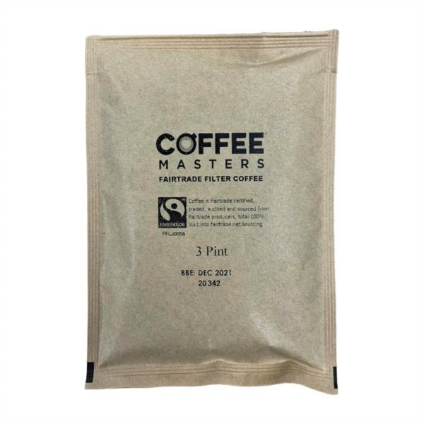 Coffee Masters - Fairtrade Filter Coffee (100x3pint) (No Papers)