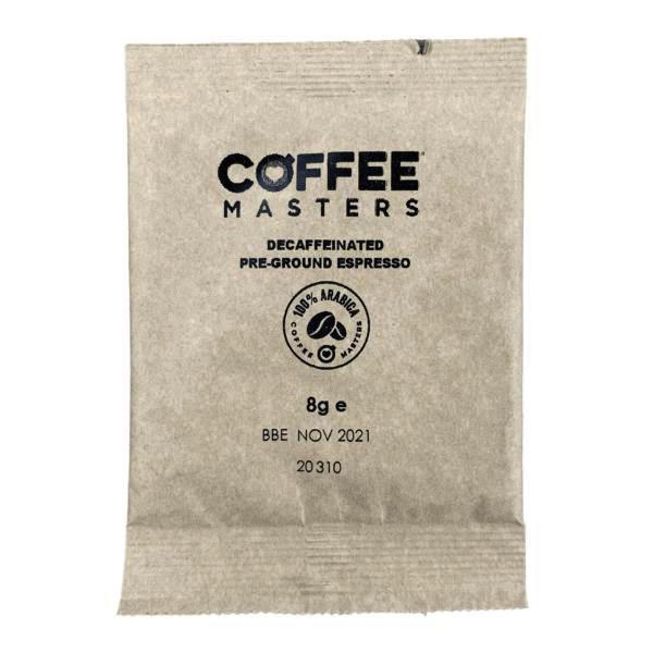 Coffee Masters - Decaf Espresso Sachets (100x8g)