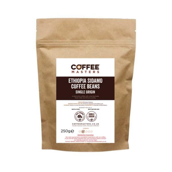 Coffee Masters - Ethiopia Sidamo Coffee Beans (1x250g)