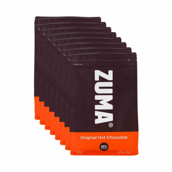 Zuma Hot Chocolate - Milk - Case (8x1kg)
