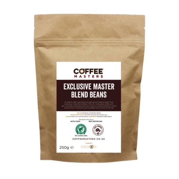 Coffee Masters - Exclusive Master Blend Coffee Beans (1x250g)