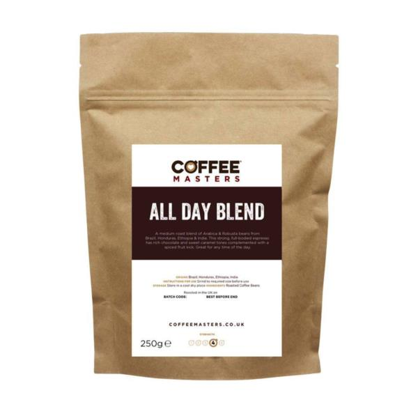 Coffee Masters - All Day Blend Coffee Beans (1x250g)