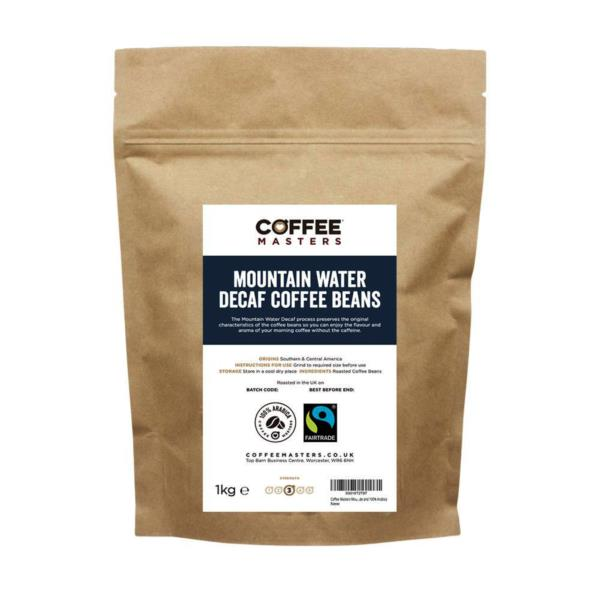 Coffee Masters - Mountain Water Decaf Coffee Beans (1x250g)