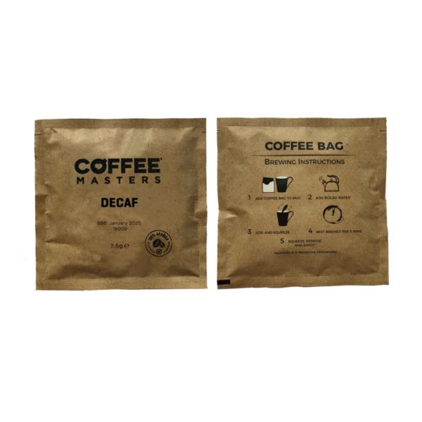 Coffee Masters - Decaf Coffee Bags (100x7.5g)
