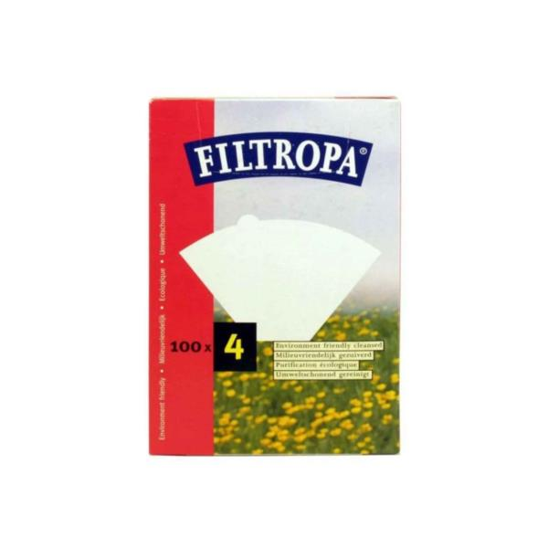 Filtropa White Filter Papers (1x100)
