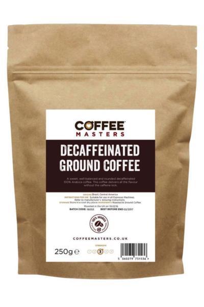 Coffee Masters - Decaf Ground Coffee (1x250g)
