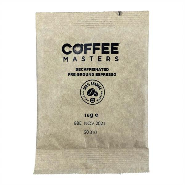 Coffee Masters - Decaf Espresso Sachets (100x16g)